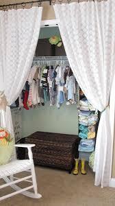 Curtain As Closet Door 35 Best Closet Curtains Images On Pinterest Closet Curtains