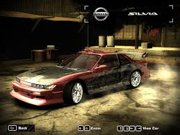 nissan silvia 1992 nissan silvia s13 club k u0027s need for speed most wanted skin