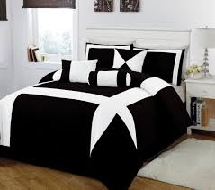 Home Design Comforter Mesmerizing 30 Black White And Red Bed Sets Design Ideas Of Brown