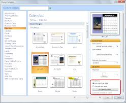 personalize a calendar for new year in publisher office blogs