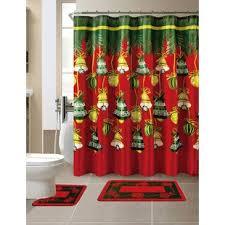 christmas shower curtains you u0027ll love wayfair