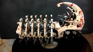 necron bone themed army youtube