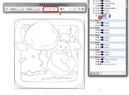 tutorial corel draw power clip how to create an android winter game app icon in coreldraw