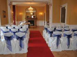 wedding seat covers chair covers for weddings events gretna flower basket