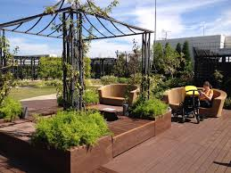 Rooftop Patio Design Exterior Adorable Rooftop Vegetable Garden Ideas With Wooden