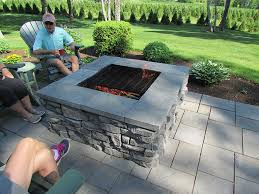 Firepit Sales Redi Rock Of Central Maine Maine Retaining Wall Block Supplier