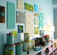 cheap wall decor ideas fabric wall art kitchen wall decor ideas