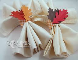 how to make thanksgiving napkin rings catherine pooler designs