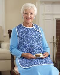clothing for elderly women s floral waterproof bib buck buck