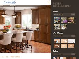 Kitchen Cabinet Comparison Kitchen Shenandoah Cabinets Cabinet Brands At Lowes