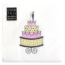 wedding cake napkins coral wedding reception napkins