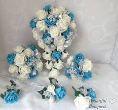 Bridesmaid Flowers Artificial Wedding Flowers Beautiful Bouquets Artificial
