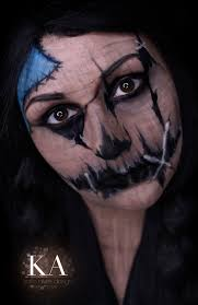 scarecrow halloween makeup w tutorial by katiealves on deviantart