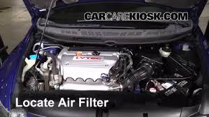 2006 honda civic motor 2006 2011 honda civic engine air filter check 2007 honda civic