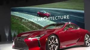 lexus lc 500 turbo lexus lc 500 livestream reveal youtube