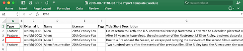 Spreadsheet Errors Bebanjo U2013 User Guides How To Import And Export With Excel