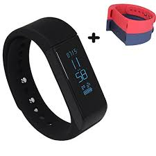 bracelet tracker images Lucog i5 plus 3 0 smart bracelet tracker w calorie burn sleep jpg