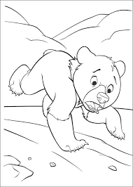 brother bear coloring pages getcoloringpages