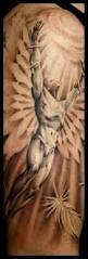 amazing flying angel and feather tattoos on arm tattooshunter com