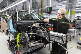 porsche stuttgart factory bouw porsche 918 spyder in u0027manufaktur u0027 in stuttgart d u2022 metaal