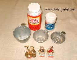 vintage measuring cup shadow box ornaments hometalk