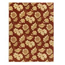 home decorators collection calypso rust 10 ft x 13 ft area rug