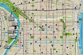 map of philly philly publishes and improved bike map phillyvoice