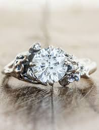 v shaped rings of diamond essence jewels are beautiful on their devi floral diamond engagement ring ken design
