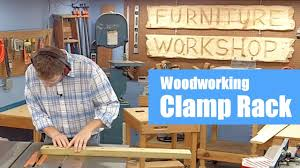 Wood Clamp Storage Rack Plans by Build A Woodworking Clamp Rack Youtube