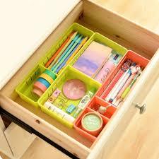 1pcs diy storage organizer storage box divide space saver plastic