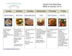free gluten free meal plan u0026 grocery list meal planning mommies