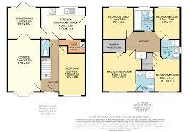 jack and jill floor plans 5 bedroom detached house for sale in woodlands green darlington