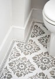 bathroom stencil ideas 264 best murals wall floor treatments images on