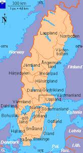 map of sweden clickable map of sweden landskap provinces