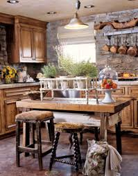 Single Wall Kitchen With Island Kitchen Design Rustic Kitchen Decoration Sets With Stone Kitchen