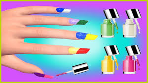 learn colors with surprise 3d nail art designs colours to kids