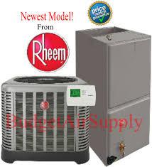 rheem ruud 4 ton 14 seer a c complete split system ra1448aj1