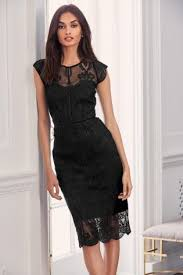 black dress uk buy black lace bodycon dress from next ireland