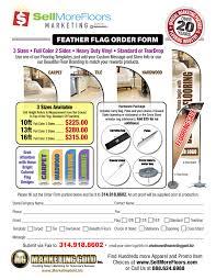 Flag Measurements Feather Flag Banners Sellmorefloors