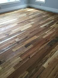 why does reclaimed wood flooring come in so many widths