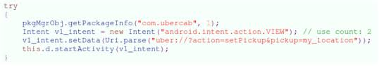 android uri android malware steals uber credentials and covers up the heist