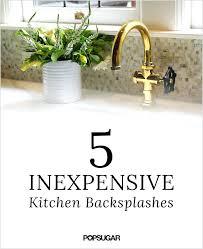 budget kitchen backsplash cheap kitchen backsplash exquisite cheap kitchen alternatives tittle