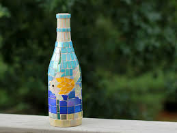 Wine Bottle Home Decor Tropical Wine Bottle Mosaic Wine Bottle Wine Bottle Arthome