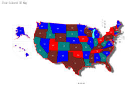 map usa color logical deduction is there a proof that a map of the united
