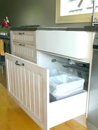 garbage can under the sink under sink garbage can under sink garbage cans f under kitchen under