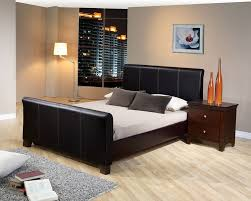 Leather Bed Frame Queen Really Awesome Black Queen Bed Frame Design Ideas Today Bedroomi Net