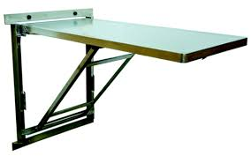 Stainless Steel Folding Table Popular Of Folding Table Wall Mounted Wall Mount Stainless Steel