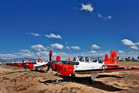 the boneyard where u s army navy and military airplanes go to