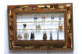 jewelry holder necklace images A good wall mount jewelry organizer ideas megan burford jpg