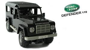 lego land rover defender 110 youtube